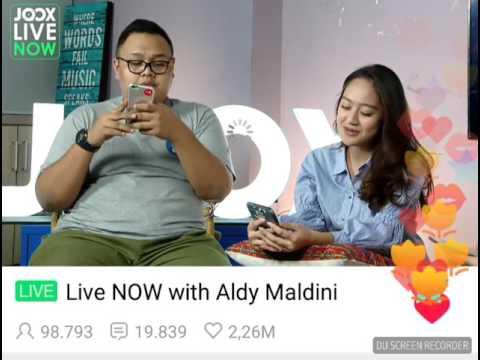 Live Joox Aldy ( Cerita 'Biar Aku Yang Pergi' ) 6 juli 2017