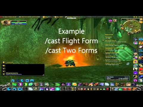 Worgen Two Forms Macro - YouTube