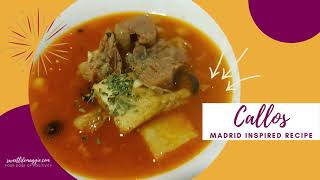 Madrid Inspired #Callos | Your Dose of Positivity | sweetlifemaggieEATS | #Cooking | Foodie VLOG #4