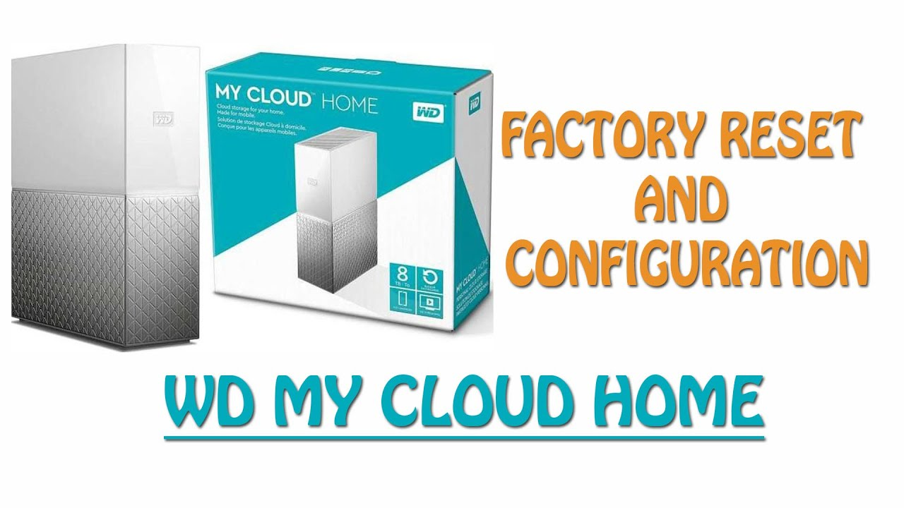 How to Hard Reset WD my Cloud By IT Instructor