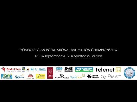 Yonex Belgian International Badminton Championships 2017
