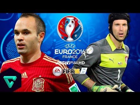 Spain vs. Czech Republic | UEFA Euro 2016 Simulation | FIFA 16