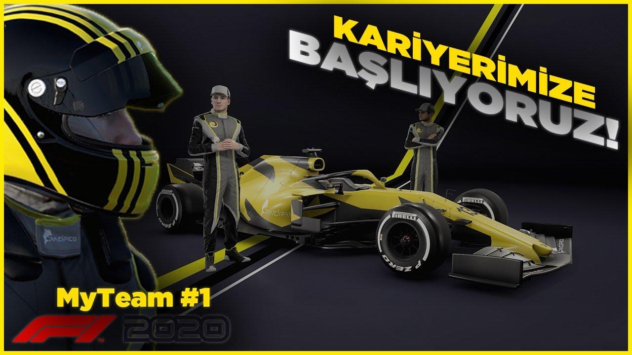 F1 2020 TÜRKÇE My Team Kariyeri! EFSANE SERİ BAŞLIYOR | F1 2020 Türkçe My Team, Bölüm 1