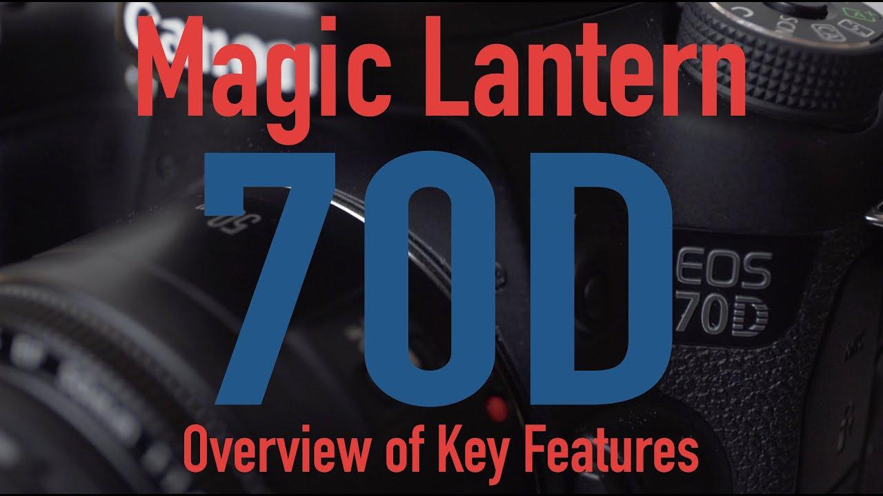 magic lantern 70d