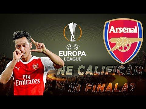 FIFA 18 Cariera Cu Arsenal - Ne Calificam In Finala Uefa Europa League ?