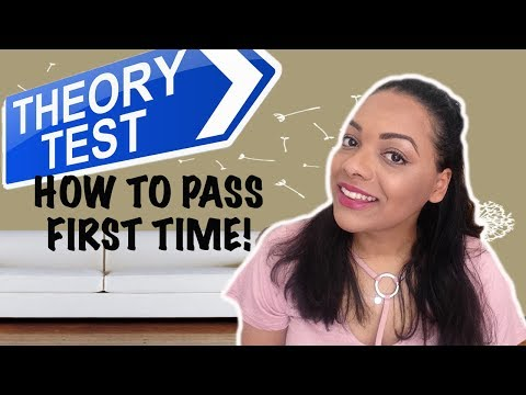 How to Pass Your Driving Theory Test the FIRST Time