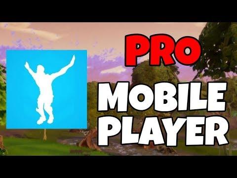 PRO Fortnite Mobile Player // Android Download! // Eagle Emote! // Fortnite Mobile Build Battles