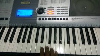 Pollathavan love theme keyboard notes | dhanush | fernandez