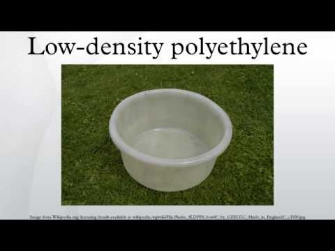 Low-density polyethylene