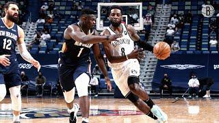 Brooklyn Nets Highlights vs. New Orleans Pelicans | 4.20.2021