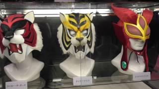 <新日本プロレス>タイガーマスクW・タイガーザダーク・レッドデスマスクのマスク:AnimeJapan(アニメジャパン)2017
