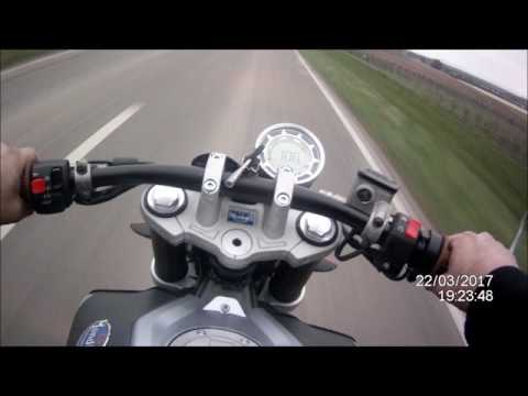 Mondial HPS Hipster 125 - Top Speed, Acceleration, Sound, POV Test Drive
