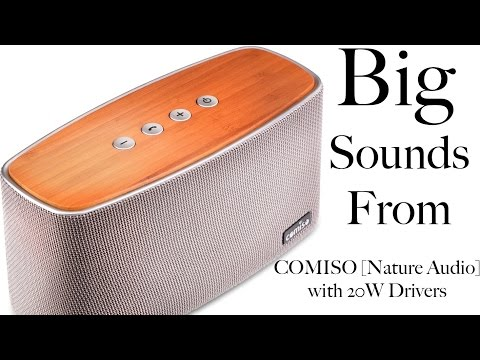 Comiso Nature Audio Home Stereo Speaker Wireless Speaker