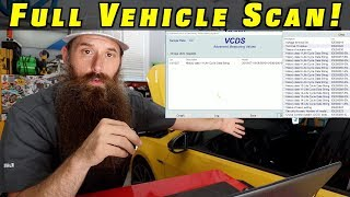 COMPLETE VCDS Vehicle Scan ~ Save ALL Adaptations!