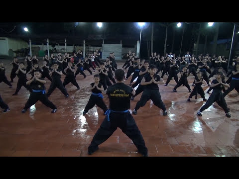 NAM HUỲNH ĐẠO Kung fu School | Daily Training Basic Kungfu Lessons [With Slava from Russia]