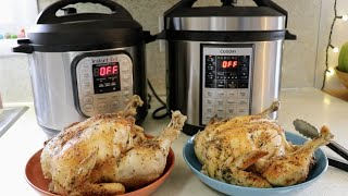 Whole Chicken || Instant Pot vs. Cosori