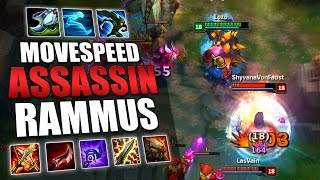 HAVE YOU TRIED THIS RAMMUS BUILD? - League of Legends