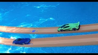 Hot Wheels Underwater Track and Race - What!!?? Gotta See this!