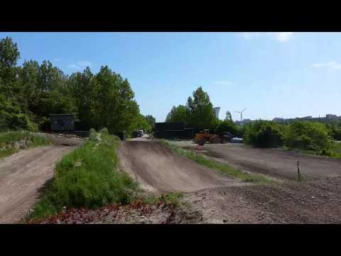 Fed træning på Amager Motocross bane