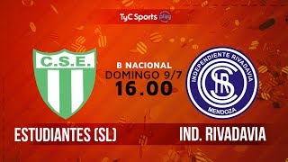 Sportivo Estudiantes vs Independiente Rivadavia full match