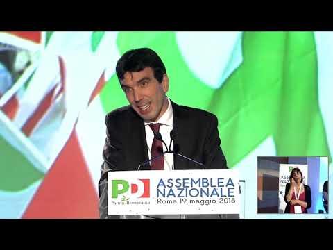 L'intervento di Maurizio Martina all'Assemblea Nazionale PD
