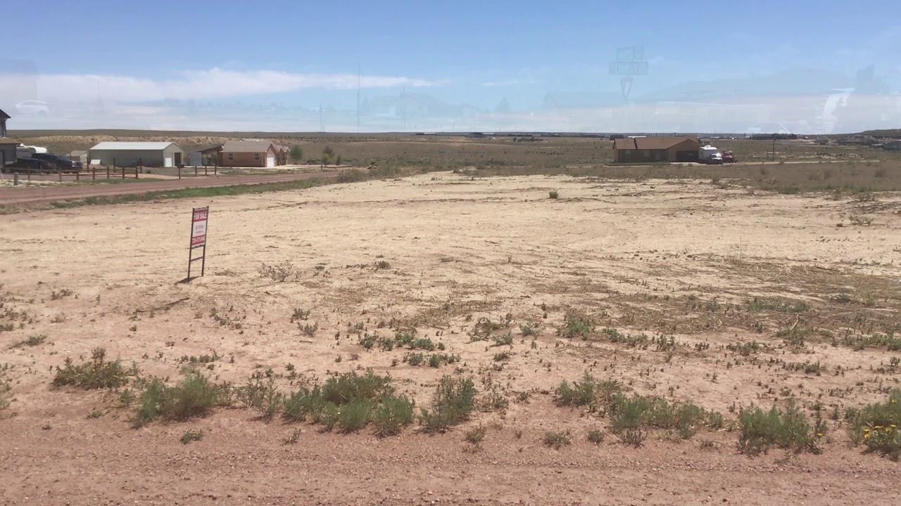 1 acre Corner Lot in N Limon Dr. Pueblo West, CO
