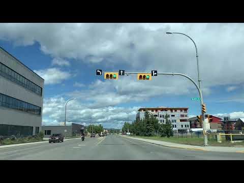 Quick Look Of Downtown Whitehorse, Yukon Canada   Tourist Destination