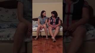 Пьяные девчонки рассказывают анекдоты,  скрытая камера