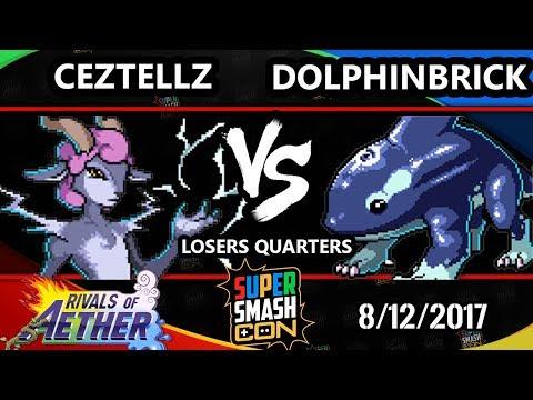 Smash Con 2017 Rivals - Ceztellz (Absa) Vs. VEXX | DolphinBrick (Orcane) ROA LQ