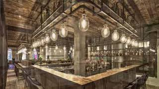 Rustic restaurant interior design ideas Restaurant interior design pictures