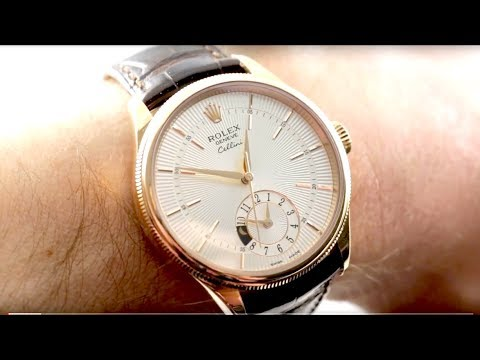 Rolex Cellini Dual Time (50525) Used Rolex Luxury Watch Review
