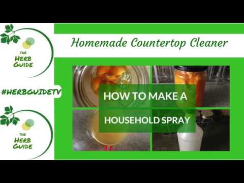 Homemade Countertop Cleaner|Natural Disinfectant