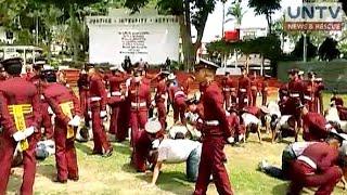Rock dela Rosa, kabilang sa mahigit 300 bagong kadete na pumasok sa PNPA