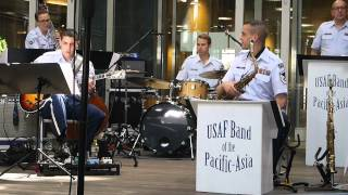 USAF Band of the Pacific-Asia, Pacific Showcase, Earthquake at Live...