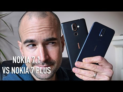 Nokia 7.1 vs Nokia 7 Plus | Side-by-side comparison