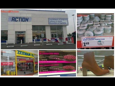 [Vlog] Go chez Action de SEVRAN (93)/ zeeman / chaussea/ la hall au chaussures