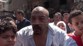 مصر العربية | هيستريا تصيب أصحاب محلات امبابة بعد حرق مخازنهم