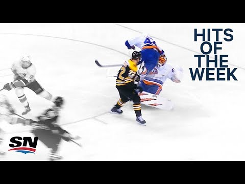NHL Hits of the Week: Garnet Hathaway pastes Leier