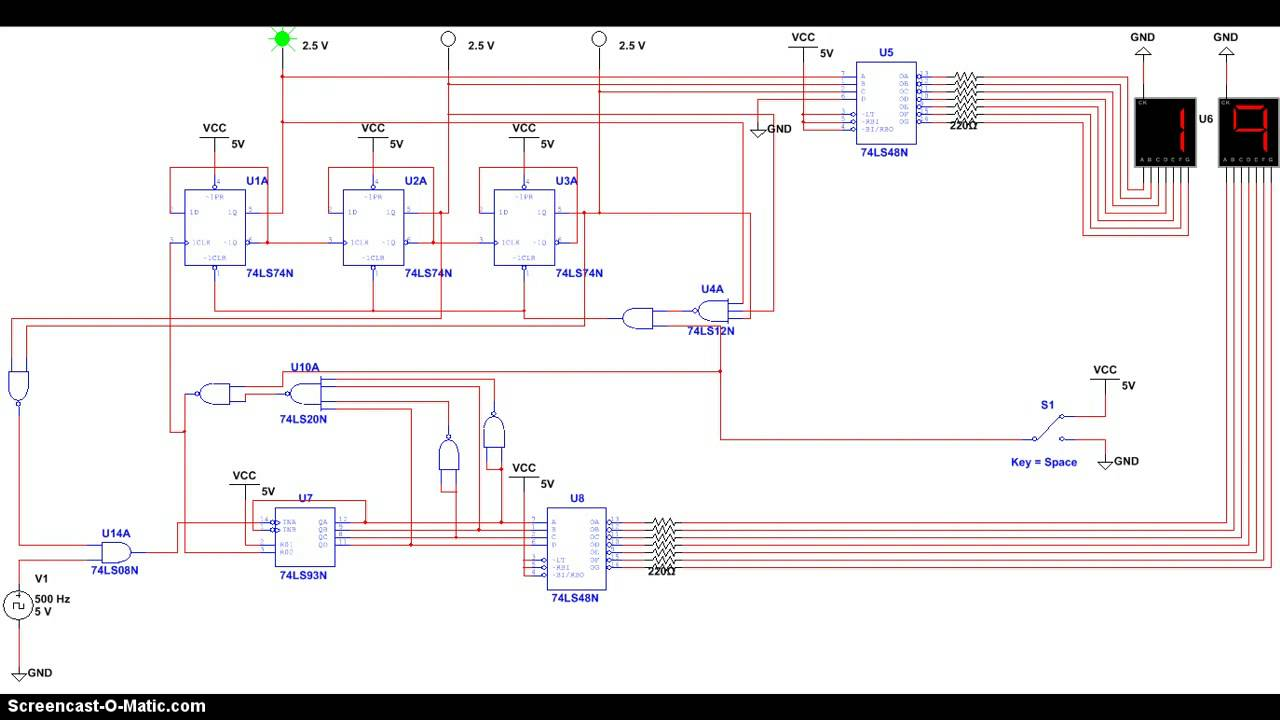Multisim Stopwatch Schematic Wiring Diagram And Ebooks Circuit Images Gallery