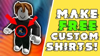How to Create Custom T-Shirts in Roblox, FOR FREE!