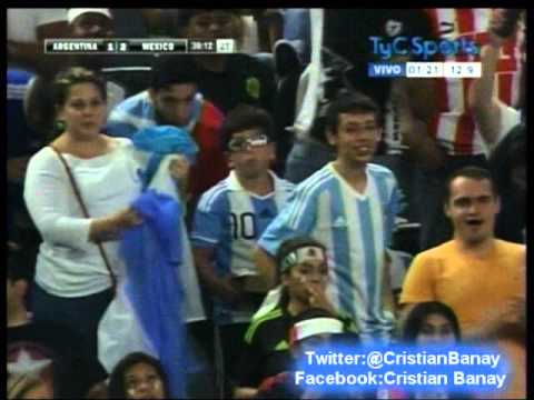Argentina 2 Mexico 2 (TYC Sports) Amistoso Internacional 2015