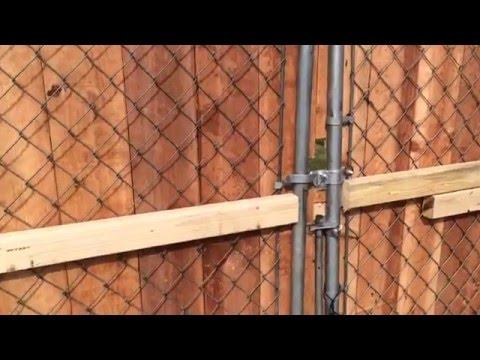 Putting Up My Wood Gate | DIY Wood Gate by kaysone