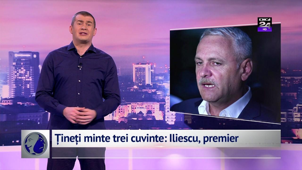 Țineți minte trei cuvinte: Iliescu, premier