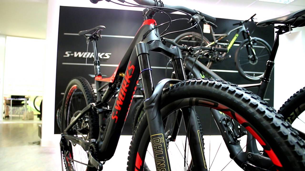 8ca51df6313 Specialized S-Works Stump Jumper 29 Shot Mountain Bike 2017 - YouTube