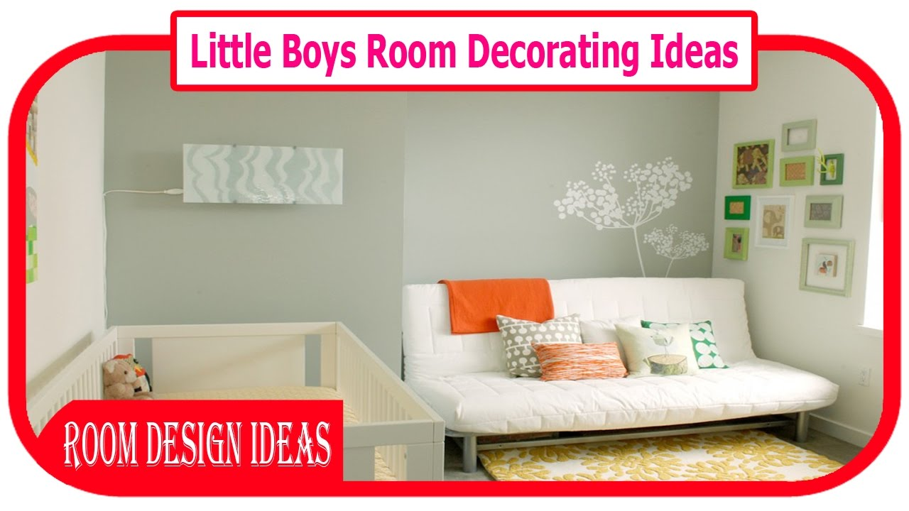 7 Inspiring Kid Room Color Options For Your Little Ones: Little Boys Room Decorating Ideas