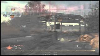 Modern Warfare 2 Fun Tactics- Throwing Knife Machine