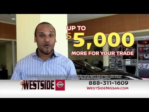 Get up to $5000 more for your trade | Weside Nissan, Jacksonville FL 32210
