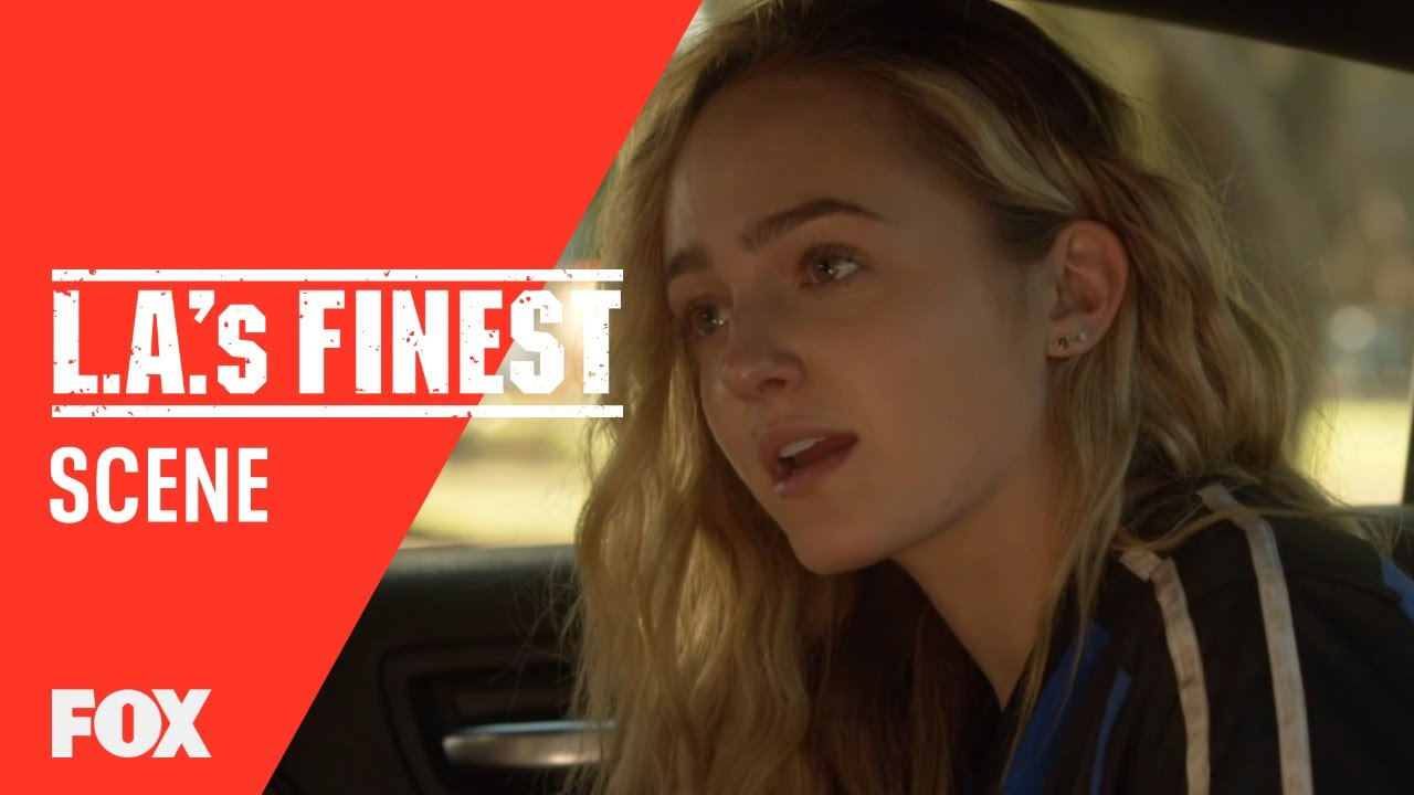 Syd & Nancy Pick Up Izzy From Practice | Season 1 Ep. 2 | L.A.'S FINEST