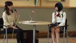 AKB48 チーム8 福島県代表舞木香純ちゃんのトークショー。