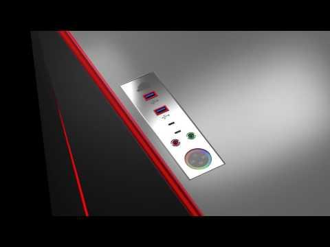 'IGEL Gaming' Custom Gaming Desk